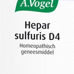 Hepar Sulfaris D4