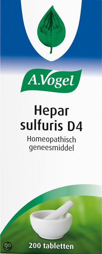 Hepar Sulfaris D4
