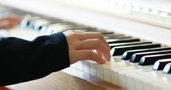 Muziekles bij kinderen