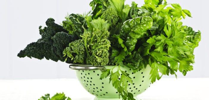 Vitamine K uit groene bladgroenten bevordert een gezond hart