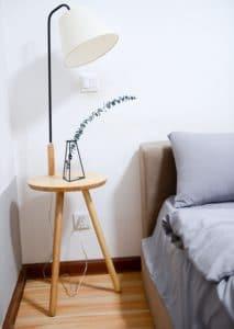 Licht in de slaapkamer
