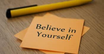 geloven in jezelf